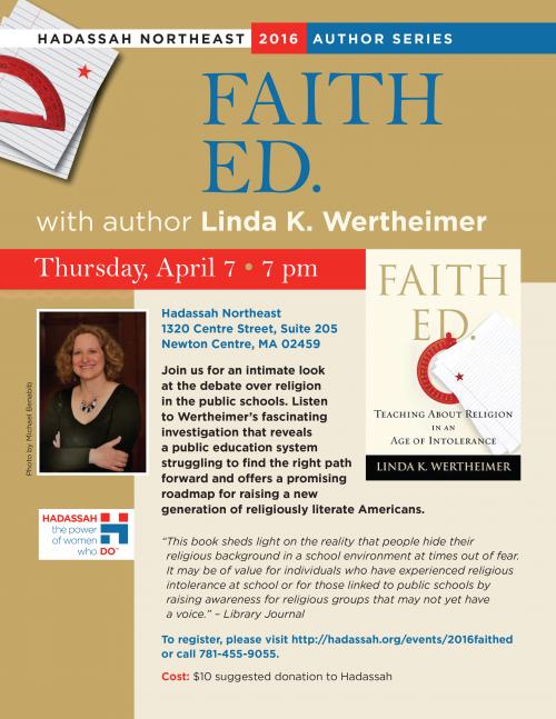 Linda Wertheimer Flyer