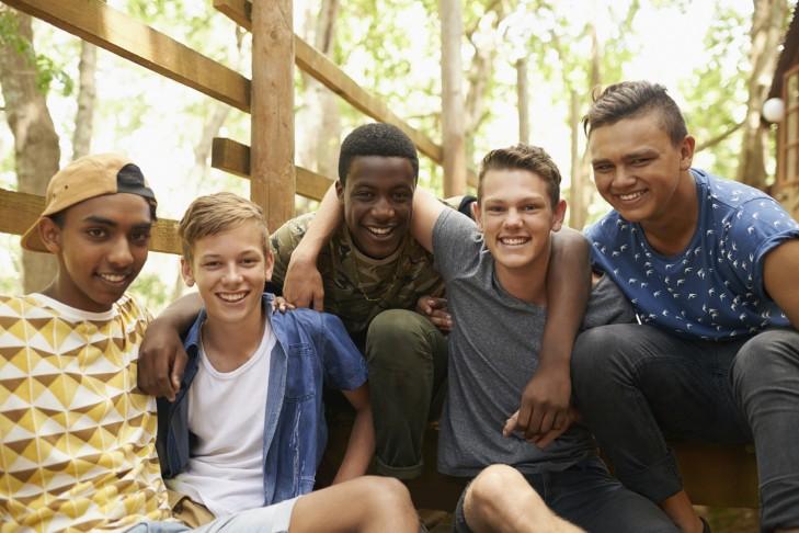 Group of Teenage Boys (Photo: PeopleImages/iStock)