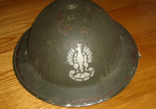 Polish Army Helmet