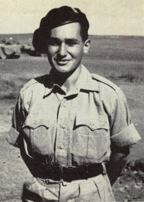 Julian Bussgang in Ander's Army 1943.