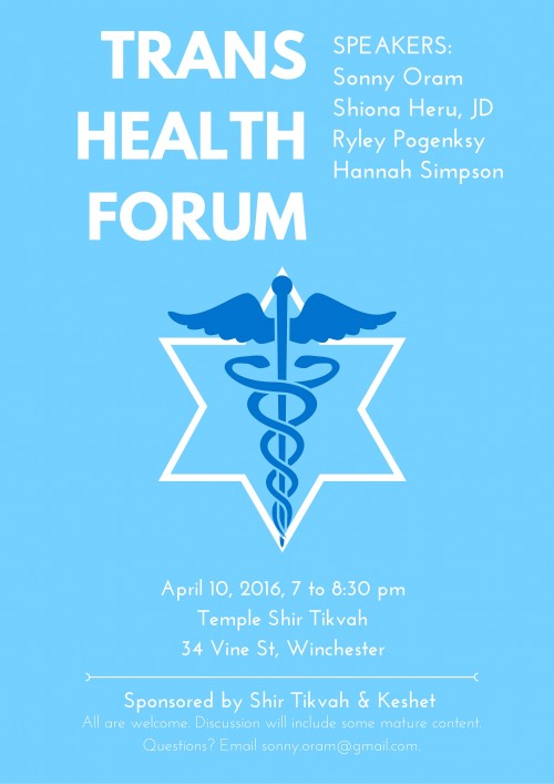 TRANS HEALTH FORUM - for web