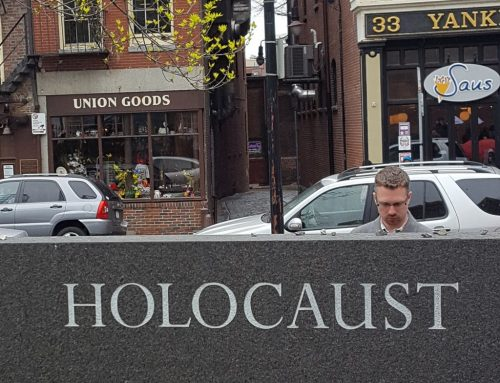 The New England Holocaust Memorial on May 1, 2016 (Matt Lebovic/The Times of Israel)