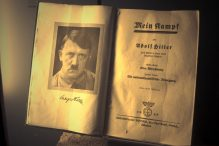 A copy of Adolf Hitler's 'Mein Kampf' (dccarbone/CC-BY, via Flickr)