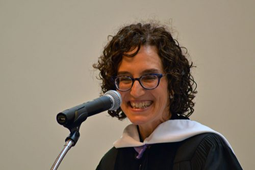 2016 Hebrew College Commencement Keynote Speaker, Jane Eisner - Photo Credit Zachary Sherman -lowres
