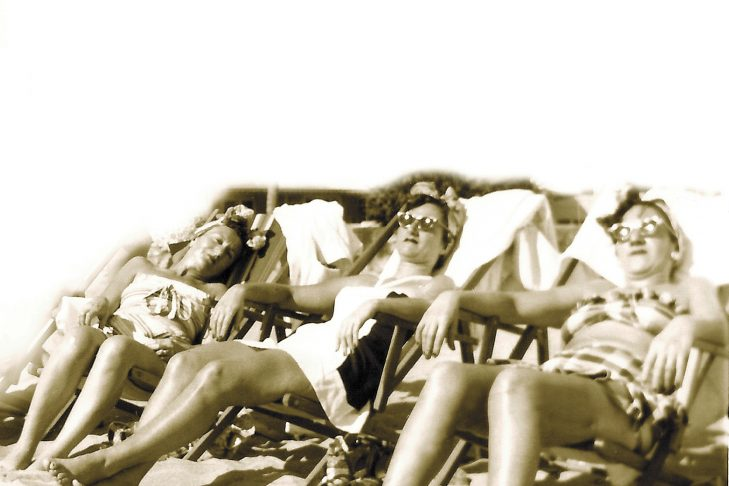 Books on Beach ladies