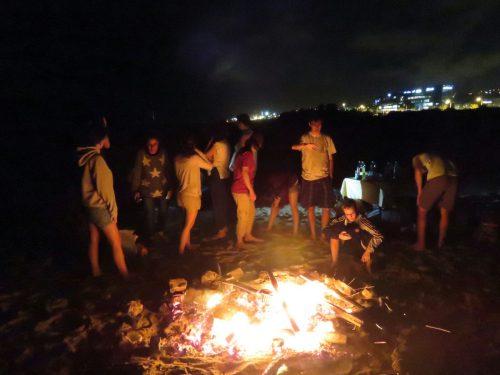 Poike on Haifa Beach