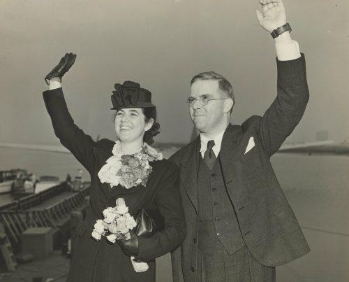 Martha and Waitstill Sharp in 1939 (Photo credit: Andover Harvard Theological Library)
