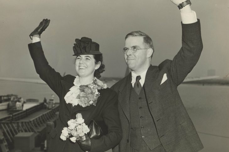 Martha and Waitstill Sharp in 1939 (Photo credit: Andover Harvard Theological Library)