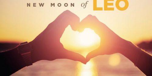 new moon of leo image