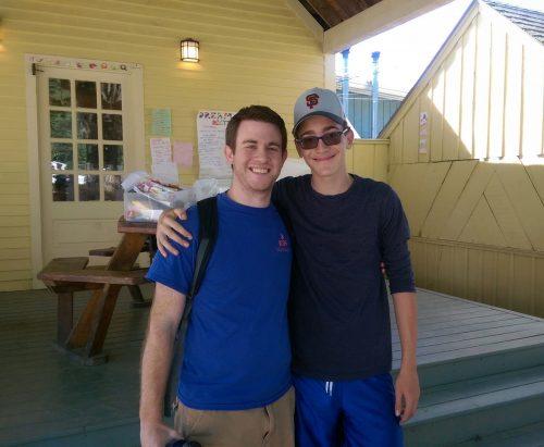 JCDS Visits Camp