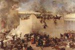 Destruction of the Temple of Jerusalem(1866) by Francesco Hayez