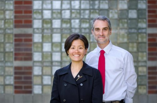 Helen Kim and Noah Leavitt (Photo credit: Matthew Zimmerman Banderas)