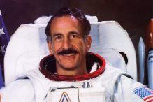 Astronaut Jeff Hoffman