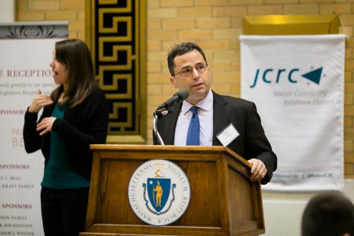 Keynote speaker Josh Kraft (Courtesy JCRC)