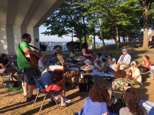 Kabbalat Shabbat at Salem Willows!