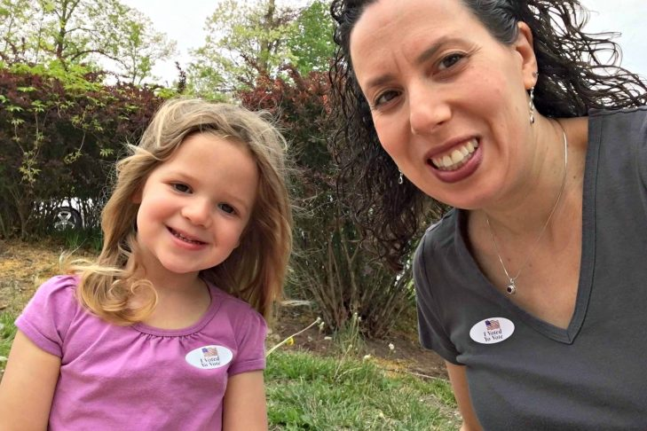 Sarah and her daughter, Gali