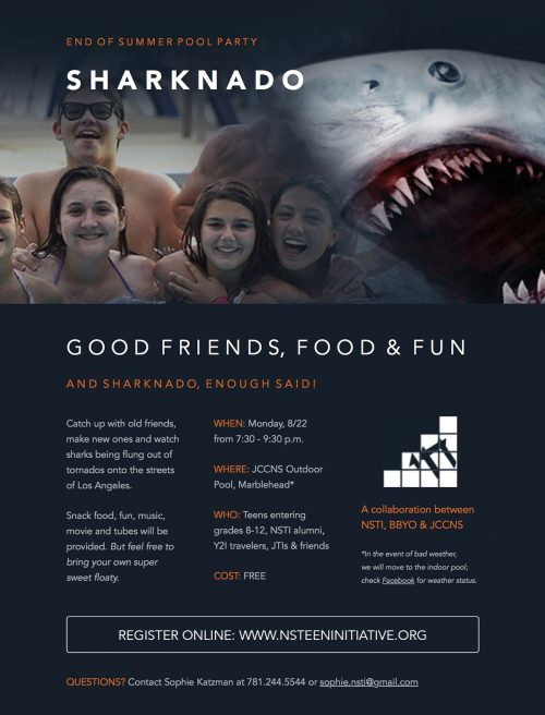 Sharknado Pool Party eblast4Print