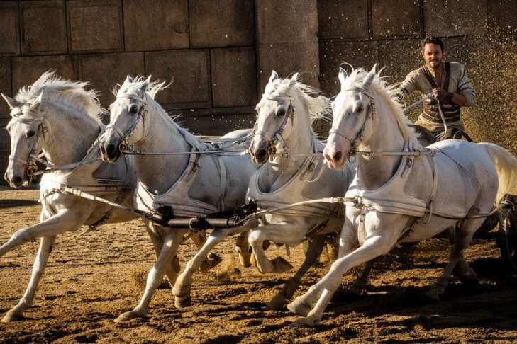 Jack Huston as Ben-Hur in 2016 (Courtesy Paramount Pictures/Metro-Goldwyn-Mayer)