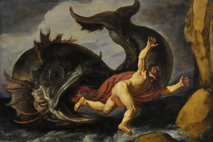 Jonah and the Whale by Pieter Lastman (1583–1633)