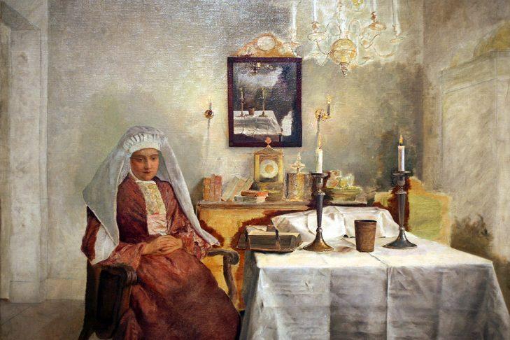 (Painting: The Jewish Museum, New York)