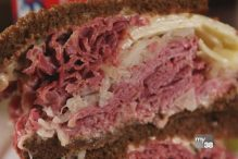 Reuben at Michael's Deli (Image: Phantom Gourmet)