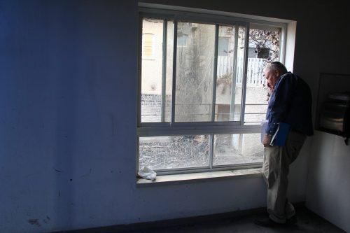 Barry Shrage in Haifa.